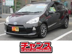 トヨタ アクア S SDナビ CD Bluetooth バックカメラ TV ETC スマートキー ドラレコ オートライト 社外アルミホイール