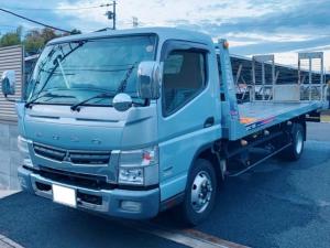 三菱ふそう キャンター  カスタムセキサイ 積載車 セーフティーローダー 古河ユニックNEO5 ラジコン ウインチ 積載3100kg 荷台長さ570cm 幅199cm
