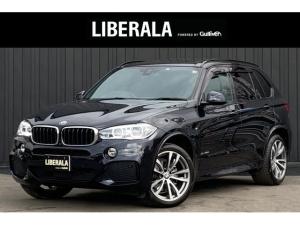 BMW X5 xDrive 35d Mスポーツ ワンオーナー インテリSFT ACC サンルーフ レザーシート 純正ナビTV トップビュー 純正20AW シートヒーター パワーシート harman/kardon ドラレコ LEDライト セレクトP