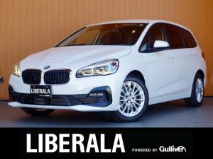 BMW 2シリーズ 218dグランツアラー ACC インテリSFT 純正ナビ バックカメラ ヘッドアップディスプレイ シートヒーター 電動リアゲート オートライト LEDライト コーナーセンサー 純正17インチAW コンフォートアクセス ETC