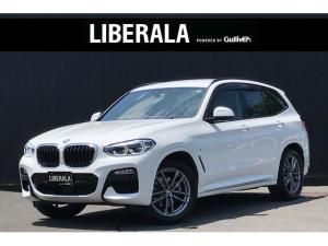 BMW X3 xDrive 20d Mスポーツハイラインパッケージ ACC ハイラインPKG インテリSFT  ヘッドアップディスプレイ 純正ナビ フルセグTV 全方位カメラ 黒革シート 全席シートヒーター 純正19AW 電動リアゲート LEDライト パドルシフト