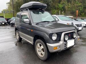 三菱 パジェロミニ XR-II ETC 15インチアルミホイール キーレス ルーフレール 4WD パワステ エアコン パワーウィンドウ