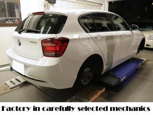 BMW 1シリーズ 120i スポーツ ディーラー管理車両 120iスポーツ 対策品パーツ交換済 一年点検整備保証 ディーラー記録簿完備 純正ナビ ウォッシャーモーター交換済 ATオイル交換済 パワ-ウィンドーレギュレーター交換済