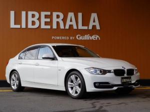 BMW 3シリーズ 320d スポーツ ACC・衝突軽減B・コンフォートアクセス・インテリジェントセーフティ・レザーシート・シートヒーター・純正HDDナビ・パドルシフト・ACC・ETC