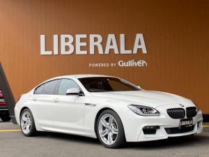 BMW 6シリーズ 640iグランクーペ Mスポーツパッケージ 純正HDDナビ・フルセグTV・LEDヘッドライト・レザーシート・シートヒーター・バックカメラ・コンフォートアクセス・パドルシフト