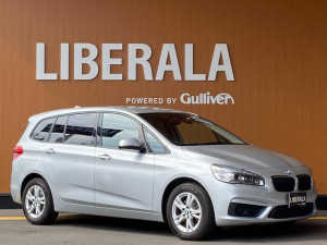 BMW 2シリーズ 218iグランツアラー 純正ナビ フルセグTV バックカメラ ETC コンフォートアクセス  純正16インチAW パワーバックドア  インテリジェントセーフティ 衝突軽減ブレーキ 車線逸脱警告