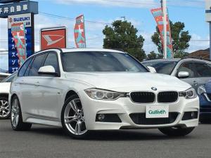 BMW 3シリーズ 320dブルーパフォーマンス ツーリング Mスポーツ サンルーフ 純正ナビ バックカメラ  ミラー一体ETC コンフォートアクセス 純正18インチAW パドルシフト メモリーシート 電動リアゲート