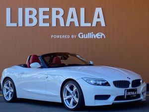 BMW Z4 sDrive23i Mスポーツパッケージ 赤革シート シートヒーター 純正ナビ フルセグTV(走行中視聴可能) ミラー一体型ETC 純正18インチAW 直6気筒エンジン