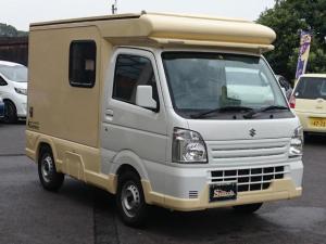 スズキ キャリイトラック CampMaster キャンピング車 4WD AC PS