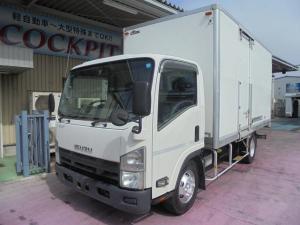 いすゞ エルフトラック 3.5t超ワイドロング 保冷バン サイドドア 高床 ETC