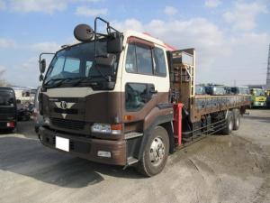 UDトラックス 10tユニック製4段クレーン 2.93t吊り ラジコン