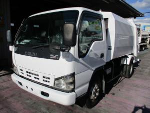 いすゞ エルフトラック 2.6t パッカー車 プレス式 6立米 高床