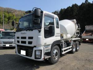 いすゞ ギガ ベースグレード 10t ミキサー車 最大混合容量4.4立米 ドラム容量8.7立米