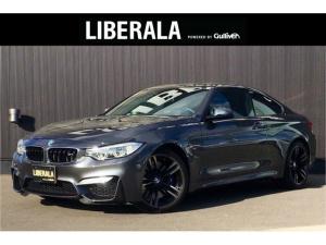 BMW M4 M4クーペ 6MT 左H 黒革 OP19インチAW 衝突軽減 純正ナビ フルセグTV 車線逸脱警告 ヘッドアップティスプレイ コンフォートアクセス ディーラー記録簿 禁煙