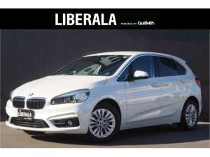 BMW 2シリーズ 218iアクティブツアラー ラグジュアリー コンフォート/パーキングサポートPKG 黒革シート 純正ナビ Bカメラ 衝突軽減B レーンDW パワーシート/ヒーター コンフォートアクセス ハンズフリーパワーゲート LEDライト パーキングアシスト