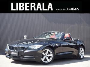 BMW Z4 sDrive23i ハイラインパッケージ 電動オープン 直6エンジン 赤革シート パワーシート/ヒーター 純正ナビ フルセグ  純正17incAW ミラー一体型ETC HIDヘッドライト パドルシフト キーレス プッシュスタート