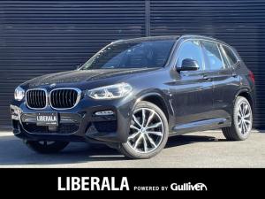 BMW X3 xDrive 20d Mスポーツ ハイライン/イノベーションPKG 黒革シート ヘッドアップD ジェスチャーコントロール ワイヤレス充電 ディスプレイキー OP20AW ACC 衝突軽減B 純正ナビTV 360カメラ パワーバックドア