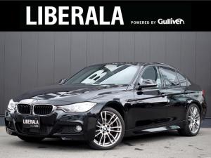BMW 3シリーズ 320d Mスポーツ 衝突軽減B ACC純ナビ Bカメ OP19AW LED  レーンDW 前車接近警告 衝突回避/被害軽減BコンフォートA ミラー体型ETC PDC パワーシート パドルシフト