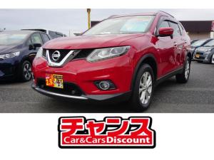 日産 エクストレイル 純正SDナビ・フルセグ・DVD・シートヒーター・4WD