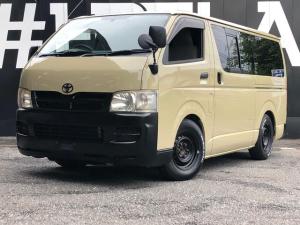 トヨタ ハイエースバン DX サファリベージュNEWペイント 消耗品交換点検済