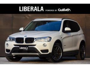 BMW X3 xDrive 20d アダプティブクルーズコントロール 360°カメラ 純正ナビ フルセグTV  社外19インチAW ローダウンサス リアガラスフィルム施工  電動バックドア FRコーナーセンサー  純正AW+タイヤ有