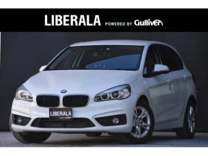 BMW 2シリーズ 218iアクティブツアラー インテリジェントセーフティー  社外TVチューナー 純正ナビ  社外バックカメラ 純正16AW アイドリングストップ MTモード付きAT ABS DSC  ミラー型ETC プッシュスタート