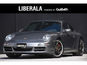 ポルシェ 911 911カレラS 黒革シート シートヒーター 社外ナビ  バックカメラ DTV MTモード付きAT 360°ドライブレコーダー 純正19インチAW ETC フロアマット