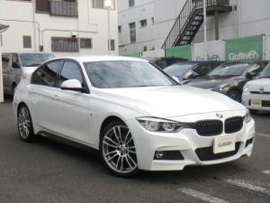 BMW 3シリーズ 320i Mスポーツ 6速MT ワンオーナー インテリジェントセーフティ レーンチェンジ/レーンディパーチャーウォーニング 純正OP19インチAW LEDヘッドライト 純正ナビ バックカメラ 毎年点検記録あり