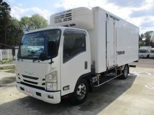 いすゞ エルフトラック 高床・冷蔵冷凍車・3t・東プレ・2室可動式観音扉