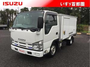 いすゞ エルフトラック フラットロー・冷蔵冷凍車・1.5t・日本フルハーフ