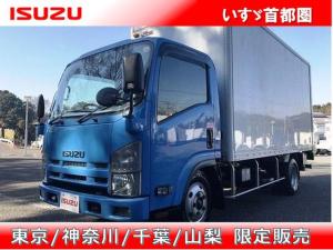 いすゞ エルフトラック 高床 バン・積載2.000kg・日本フルハーフ・ラッシング2段・パワーゲート昇降能力1.000kg・フルゲートリフター・オートタ-ン・助手席側電格ミラー・ETC・距離131.000km・6MT