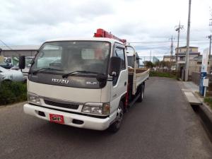 いすゞ エルフトラック 6MT ユニック クレーン