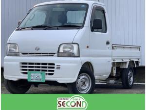 スズキ キャリイトラック KA 3方開 4WD 室内清掃済 5MT ラジオ エアコン