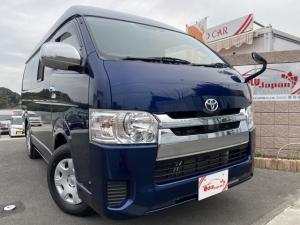 トヨタ ハイエースバン  キャンピングカーソーラーパネル付