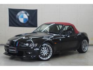 BMW Z3ロードスター 2.2i 後期 弊社カスタム車 新品18AWタイヤ 新品赤幌張替 新品Fスポ 新品ヘッドライトLED加工 Rスポイラー