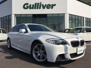 BMW 5シリーズ 5シリーズ ツーリング Mスポーツ 純正ナビ 黒レザーシート