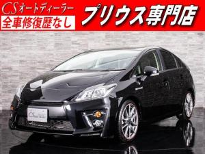 トヨタ プリウス Sツーリングセレクション・G's 新品タイヤ SDナビ