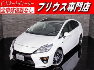 トヨタ プリウス S 純正G'sバンパー 新品19AW&タイヤ HDD