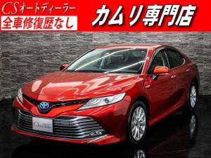 トヨタ カムリ G プリクラッシュ SDナビ 禁煙 レーダーC BSM