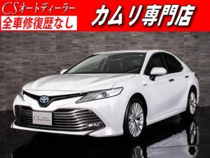 トヨタ カムリ Gレザーパッケージ 黒本革 禁煙 トヨタセーフティセンス