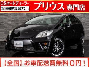 トヨタ プリウス S 1オーナー 禁煙 新品Gsバンパー 新品19AW ETC