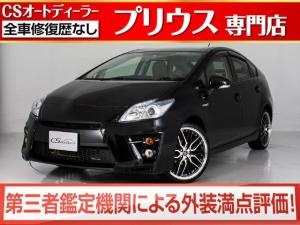 トヨタ プリウス S 新品G'sバンパー 新品19インチアルミ 新品タイヤ  SDナビ DVD再生 ETC 地デジ