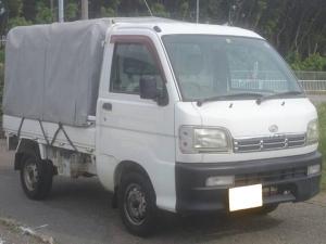 ダイハツ ハイゼットトラック DX 三方開 5速MT 4WD 幌 エアコン タイベル交換済
