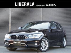 BMW 1シリーズ 118i プラスパッケージ パーキングサポートパッケージ 純正HDDナビ LEDヘッドライト LEDフロントフォグ オートライトシステム