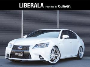 レクサス GS GS450h Fスポーツ プリクラッシュS TEIN車高調 WORKグノーシス2ピース20インチAWレザーシート サンルーフ