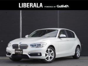 BMW 1シリーズ 118i ファッショニスタ インテリジェントセーフティ アクティブクルーズコントロール 白レザーシート シートヒーター コンフォートアクセス 純正HDDナビ バックカメラ LEDヘッドライト