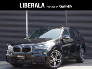 BMW X1 sDrive 18i Mスポーツ ワンオーナー インテリジェントセーフティ レーンディパーチャーウォーニング OP19インチAW 純正HDDナビ バックカメラ 前後ドライブレコーダー GPSレーダー LEDヘッドライト