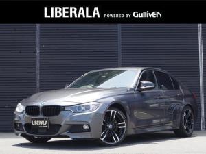 BMW 3シリーズ 320d Mスポーツ インテリジェントセーフティ ACC 純正HDDナビ リアビューカメラ 赤レザーシート シートヒーター コンフォートアクセス ドライブレコーダー 純正19インチアルミ パドルシフト