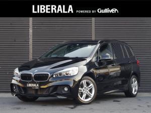 BMW 2シリーズ 218dグランツアラー Mスポーツ アドバンスドアクティブセーフティPKG ACC HUD フルセグTV 純正HDDナビ バックカメラ コンフォートアクセス パワーシート 純正17インチAW リアコーナーセンサー パワーバックドア