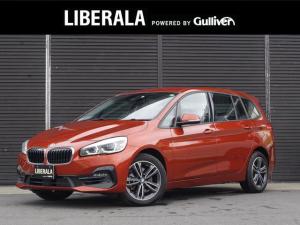 BMW 2シリーズ 218iグランツアラー スポーツ 純正HDDナビコンフォートアクセス シートヒーター インテリジェントセーフティ ETC 純正LEDヘッドライト